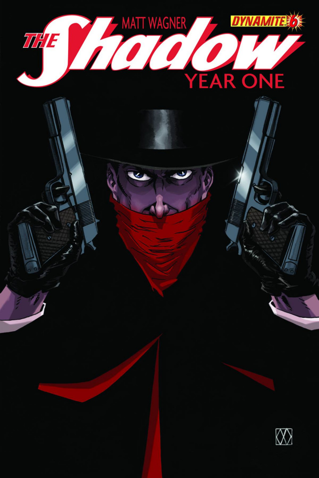 The Shadow: Year One #6 (Wagner Cover)