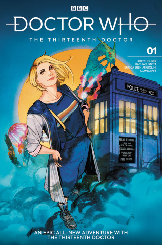 Doctor Who: The Thirteenth Doctor #1 (Kristantina & Kholinne Cover)
