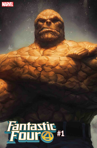 Fantastic Four #1 (Artgerm Thing Cover)