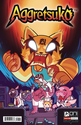Aggretsuko #1 (Cannon Cover)