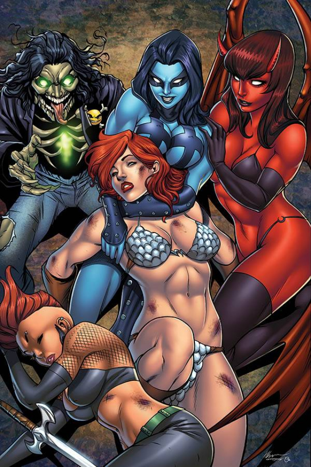 Red Sonja: Age of Chaos #5 (Garza Virgin Cover)