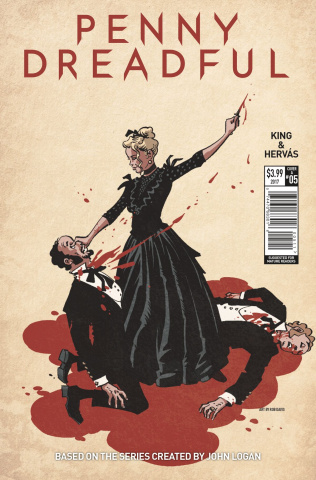 Penny Dreadful #5 (Davis Cover)