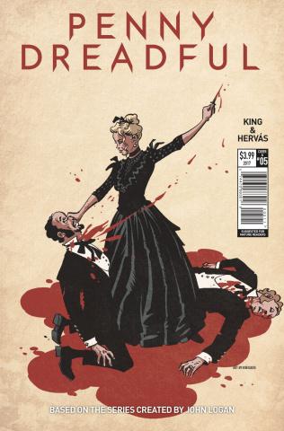 Penny Dreadful #5 (Davis Cover)