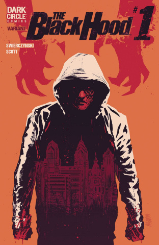 The Black Hood, Season 2 #1 (Walsh Cover)
