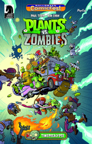 Plants vs. Zombies: Timepocalypse Halloween ComicFest 2014