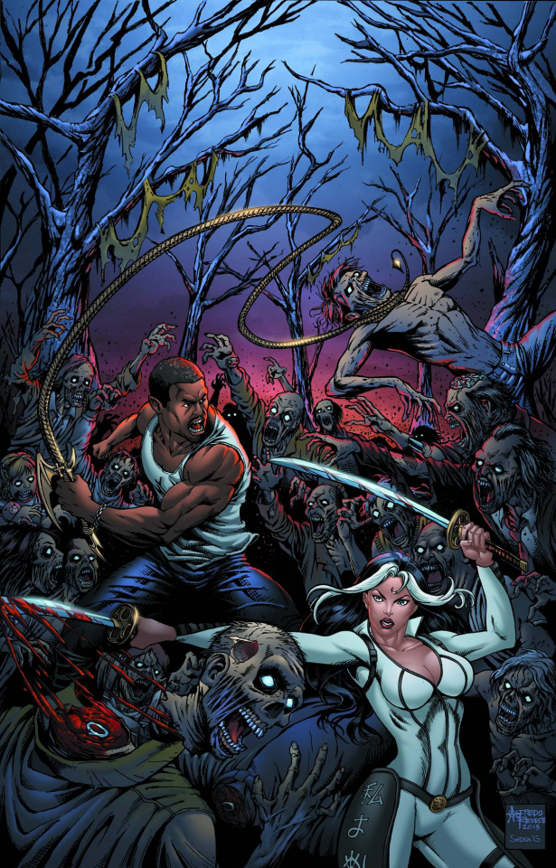 Grimm Fairy Tales: Hunters - Shadowlands #2 (Reyes Cover)