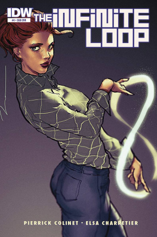 The Infinite Loop #4 (Subscription Cover)