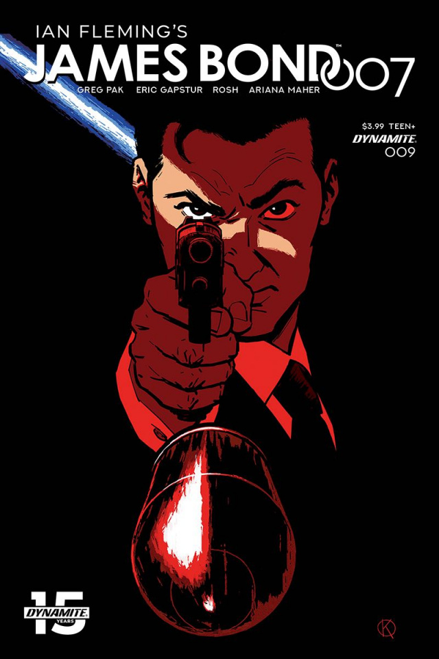 James Bond: 007 #9 (Kano Cover)