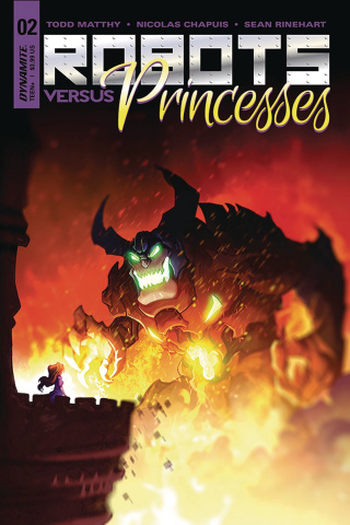 Robots vs. Princesses #2 (Chapuis Cover)