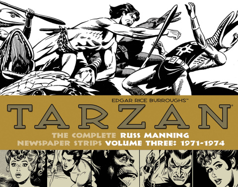 Tarzan: The Complete Russ Manning Newspaper Strips Vol. 3: 1971-1974