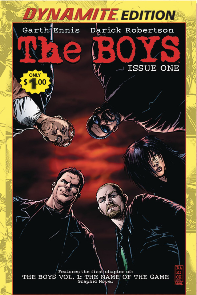 The Boys #1 (Dynamite Dollar Edition)