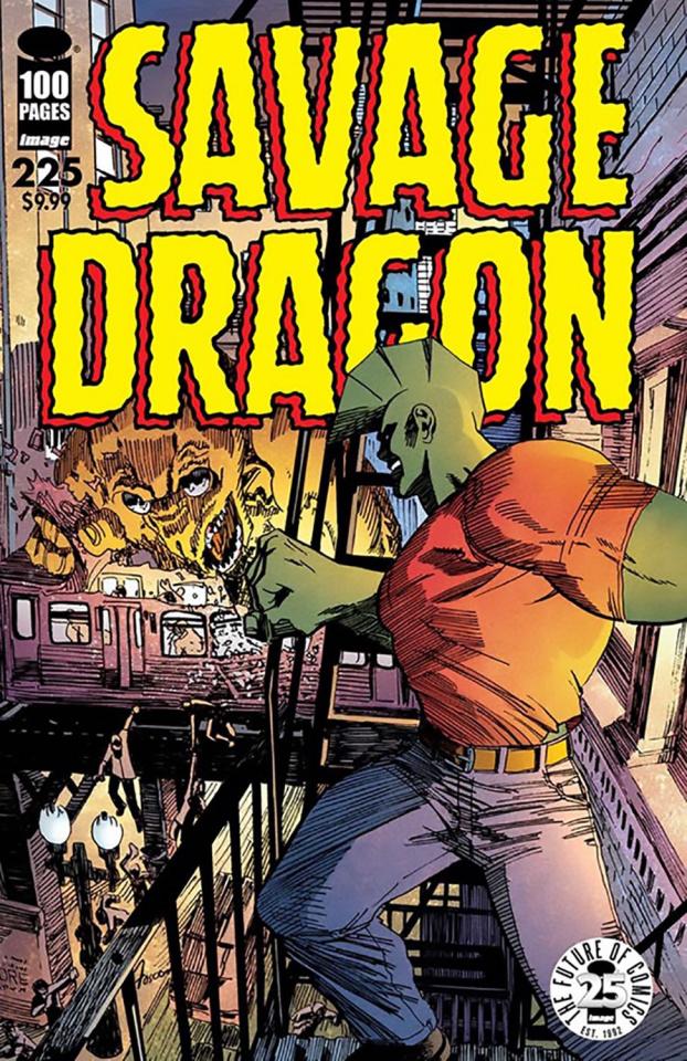 Savage Dragon #225 (25th Anniversary Fosco Cover)