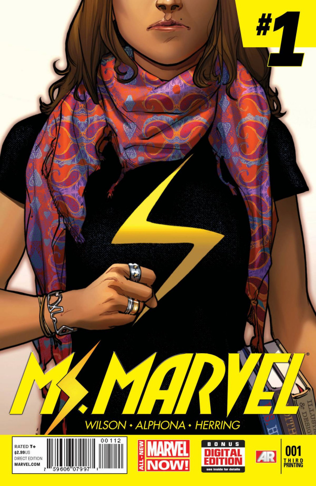 Ms. Marvel #1 (3rd Printing)