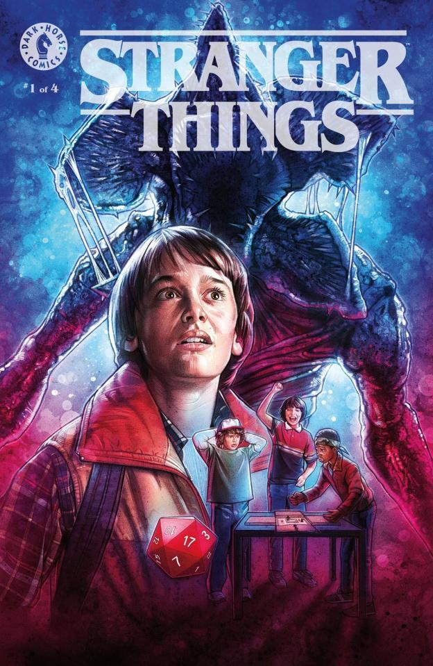 Stranger Things #1 (Lambert Cover)