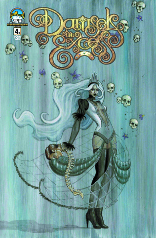 Damsels in Excess #4 (Direct Market Cover B)