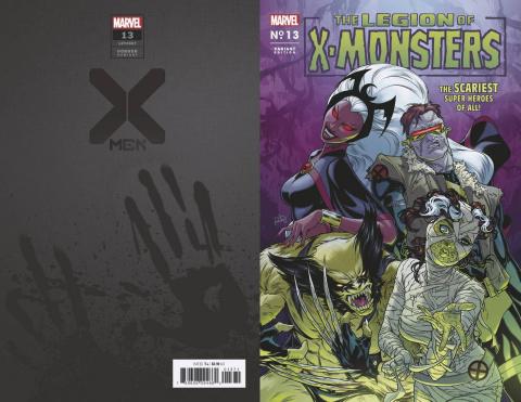 X-Men #13 (Dauterman Legion X-Monsters Horror Cover)