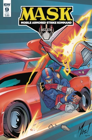 M.A.S.K.: Mobile Armored Strike Kommand #9 (Mazzara Cover)