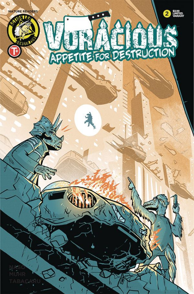Voracious: Appetite for Destruction #2 (Joyce Cover)