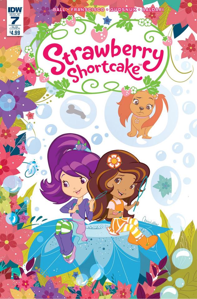 Strawberry Shortcake #7 (Subscription Cover)