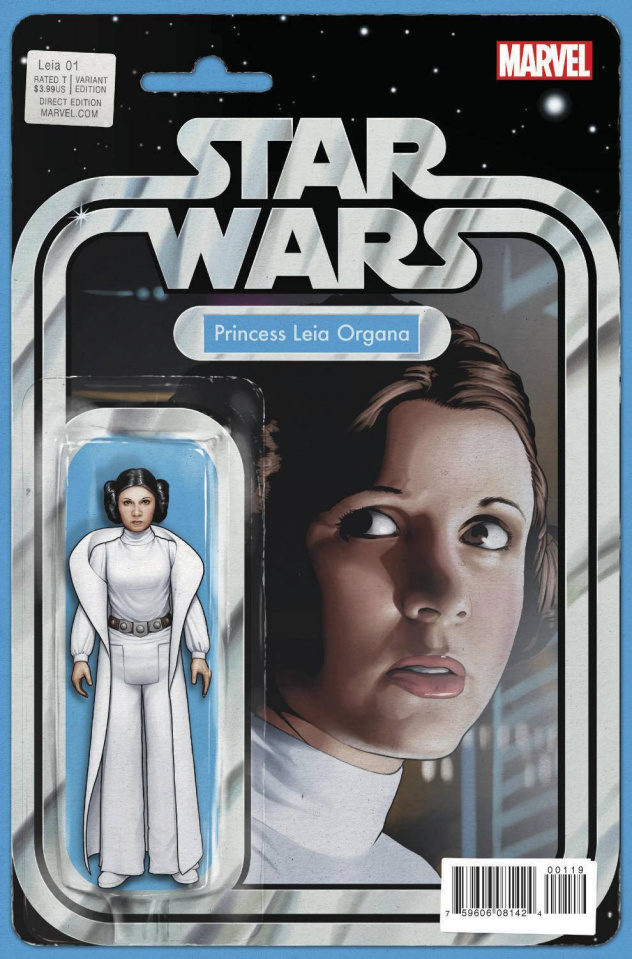 Princess Leia #1 (Action Figure Cover)