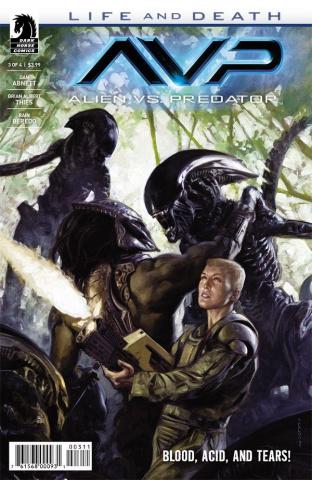 Aliens vs. Predator: Life and Death #3
