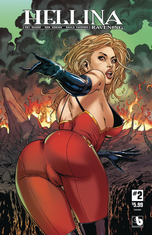 Hellina: Ravening #2 (Luscious Cover)