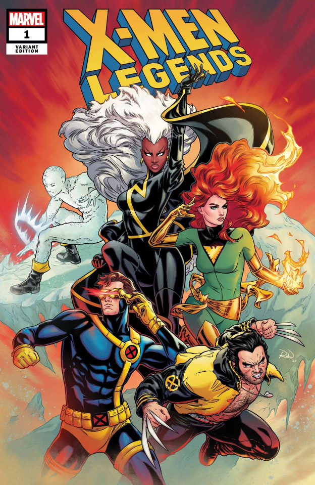 X-Men Legends #1 (Dauterman Cover)
