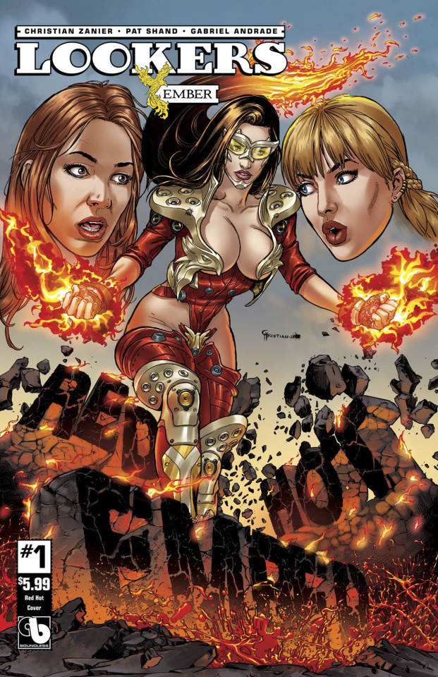 Lookers: Ember #1 (Red Hot Cover)