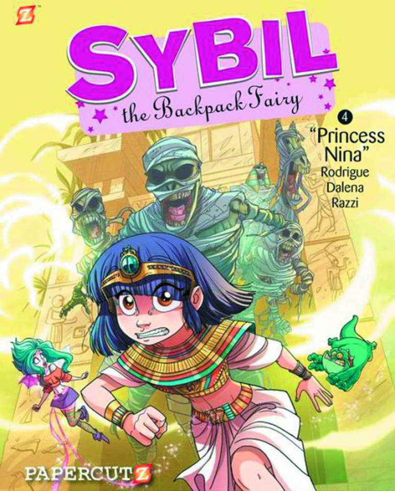 Sybil: The Backpack Fairy Vol. 4