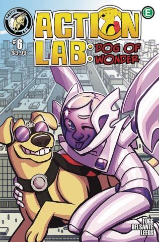 Action Lab: Dog of Wonder #6 (Leeds Cover)