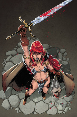Red Sonja #27 (10 Copy Miracolo Virgin Cover)