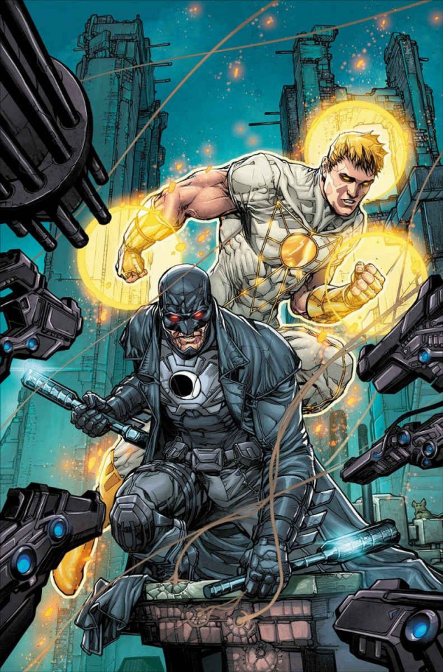 Midnighter and Apollo #1 (Variant Cover)