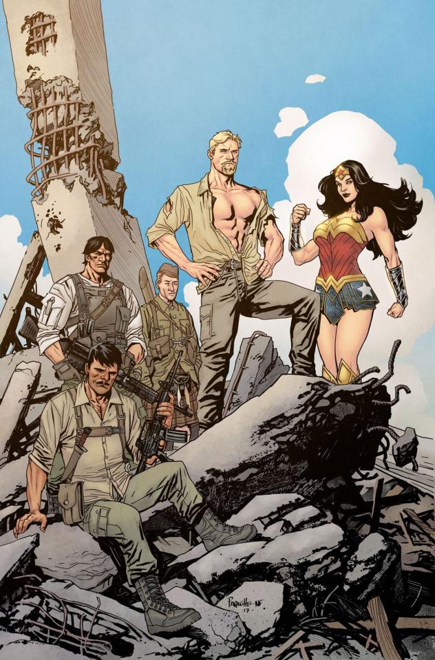 Wonder Woman: Steve Trevor #1 (Variant Cover)