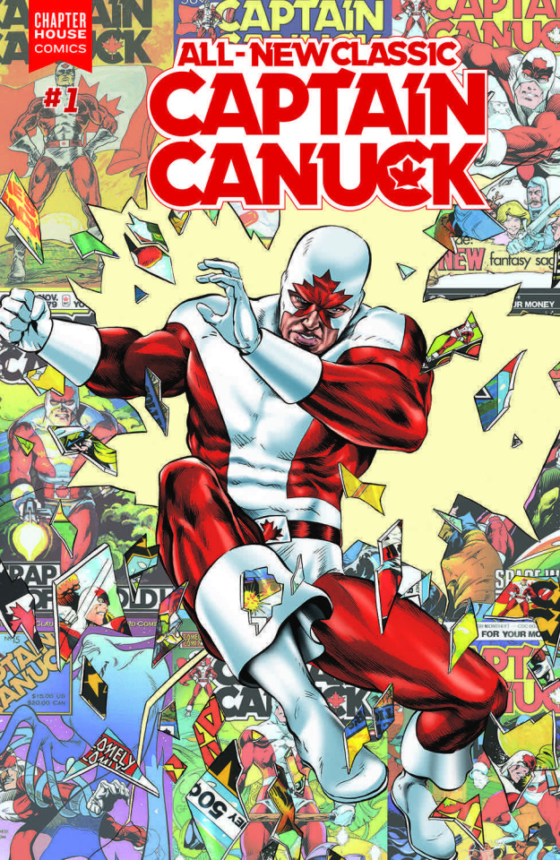 All-New Classic Captain Canuck #1 (Rooth Cover)