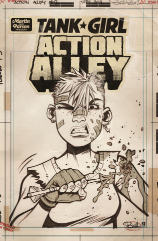 Tank Girl: Action Alley #2 (Artist Edition Cover)