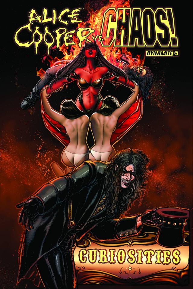 Alice Cooper vs. Chaos! #5 (Chin Cover)