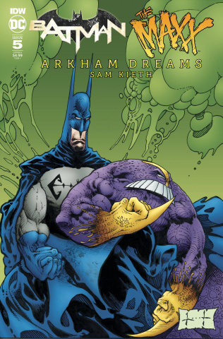 Batman / The Maxx: Arkham Dreams #5 (Kieth Cover)