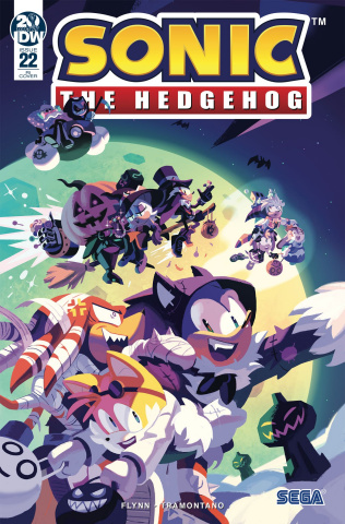 Sonic the Hedgehog #22 (10 Copy Fourdraine Cover)