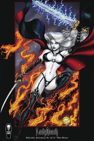 Lady Death: Malevolent Decimation #1 (Butler Cover)