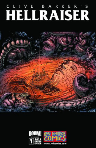 Hellraiser #1 (Bradley Signed Edition)