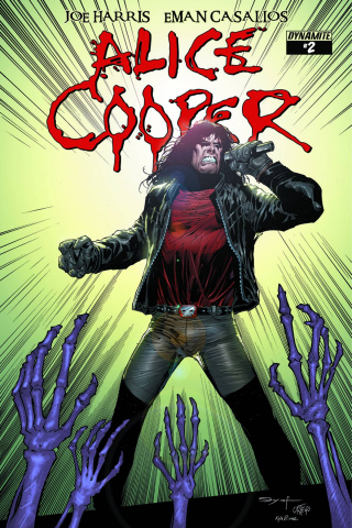 Alice Cooper #2 (10 Copy Syaf Cover)