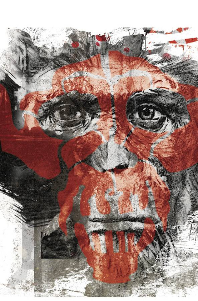 Dawn of the Planet of the Apes #6 (20 Copy Graffiti Cover)