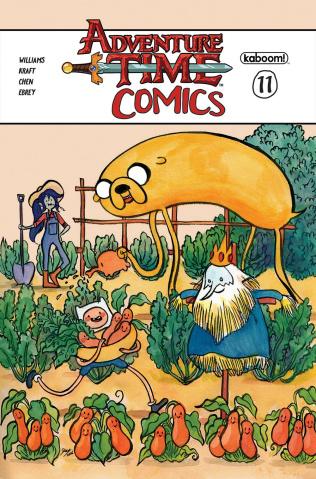 Adventure Time Comics #11 (Subscription Wang Cover)