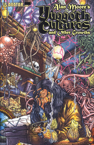 Yuggoth Cultures #3 (Platinum Foil Cover)