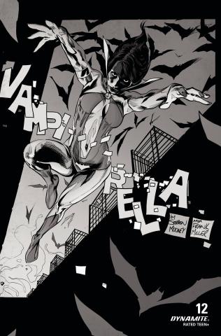 Vampirella #12 (25 Copy Mooney B&W Cover)