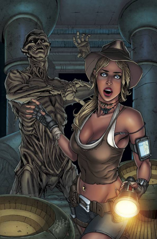Grimm Fairy Tales: Grimm Tales of Terror #2 (Bifulco Cover)
