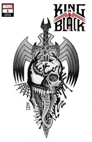 King in Black #1 (Bederman Tattoo Cover)