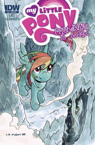 My Little Pony: Friendship Is Magic #31 (Subscription Cover)
