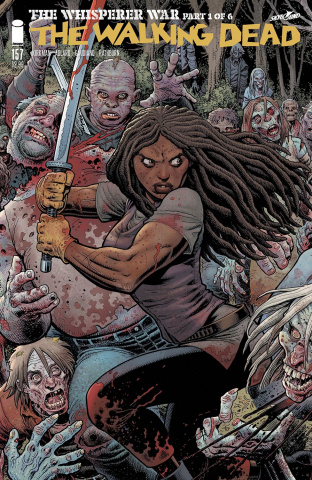 The Walking Dead #157 (Adams Cover)