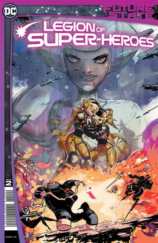 Future State: Legion of Super-Heroes #2 (Riley Rossmo Cover)